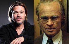 Brad Pitt se transformó en Benjamin. Película: El curioso caso de Benjamin Button   Año: 2008