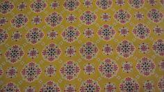 Stoff Retro Blumen Ornament  Baumwolle von ஐღKreawusel-aufgehübscht✂ஐ  auf DaWanda.com