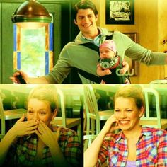 Nathan and Lydia singing to Haley! So cute!!