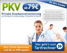 PKV-Tarifvergleich Jetzt Vergleichen und viel Geld sparen http://partners.webmasterplan.com/click.asp?type=b13&bnb=13&ref=389888&js=1&site=14518&b=13&target=_blank&title=PKV-Tarifvergleich