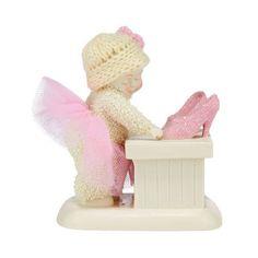 "Snowbabies Department 56 Classics Shoe Shopping Figurine, 3.98"""""