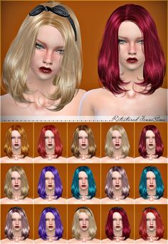 Newsea Lafite Hair Retexture at Jenni Sims • Sims 4 Updates