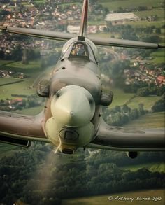 Not a good thing to see in rear view mirror if you are flying a 109...