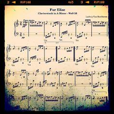 Fur Elise - Ludwig Van Beethoven