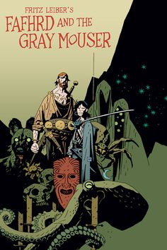 BRUDE'S WORLD : FAFHRD AND THE GRAY MOUSER Art by Mike Mignola