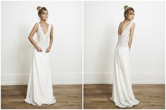The Mews Bridal Gowns of Nottinghill stock Laure de Sagazan, Rime Arodaky, Stephanie Wolff and Elise Hameau