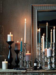Levande ljus är en skön vardagslyx att unna sig. Ljus ger lugn, värme och massor av mys. Tänd och låt det skimra och glimra så fort du kommer innanför dörren!