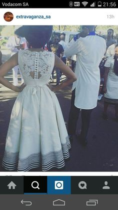 The back of this dress neh...