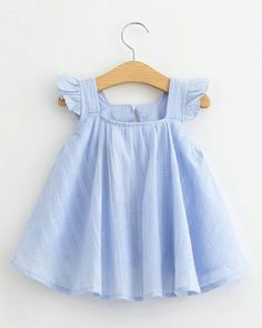 Flutter Sleeve girl flutter top spring girl outfit summer
