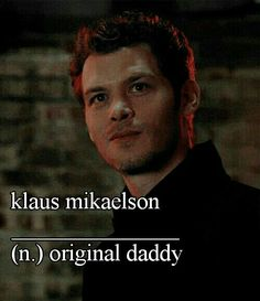 Klaus mikaelson daddy