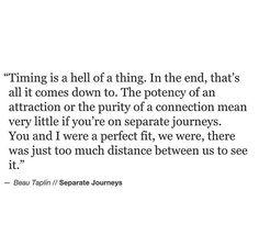 Beau Taplin    Separate Journeys