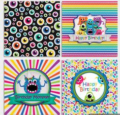 circles - decorations, toppers, stickers....