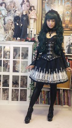 Western Gothic/alternative inspired Moitie - more fringe lolita but freakin awesome