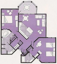 Floor Plan Walt Disney World Hotels In Orlando Fl Holiday Inn Interior Design Pinterest