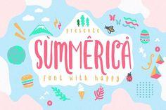 Summerica + Bonus by fopifopi on @creativemarket