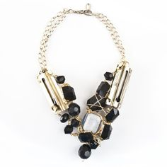 Black & Gold Double Chainlock