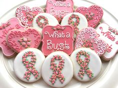 Breast Cancer Awareness by Butterfield Cookies | Cookie Connection