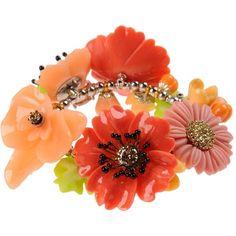La Hormiga Bracelet ($100) found on Polyvore