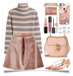 """""""Cozy Winter"""" by itsybitsy62 ❤ liked on Polyvore featuring 81 Hours, Boohoo, Francesco Russo, Chloé, Burberry, Stila, Casetify, MAC Cosmetics, Michael Kors and Topshop"""