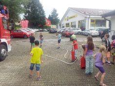 Kandern: Kinder zu Gast bei der Feuerwehr - Verlagshaus Jaumann