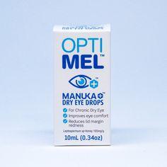 Optimel Drops Chronic Dry Eye, Dry Eye Drops, Manuka Honey, Vodka Bottle, Clinic, Healing, Eyes, Cat Eyes