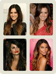 The Best Ombre Hair Color Match Different Skin-tone