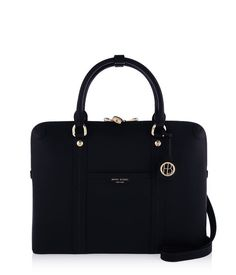 <p>The West 57th Briefcase belongs in every business-minded Bendel Girl's luxury handbag collection. Designed with the modern professional woman in mind with Saffiano leather, custom Henri Bendel details and a dedicated laptop compartment, this chic designer handbag is not your mother's briefcase!</p>