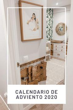 Diy Calendario, Ladder Decor, Gallery Wall, Frame, Christmas, Home Decor, Advent Calendar, Xmas, Picture Frame