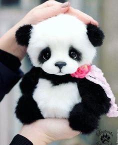 Pandas are life. Baby Animal Videos, Baby Animals Pictures, Cute Animal Pictures, Baby Animals Super Cute, Cute Little Animals, Cute Funny Animals, Baby Panda Bears, Cute Teddy Bears, Baby Pandas