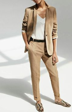 Neutral Suit // viennawedekind.com