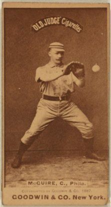 McGUIRE BASEBALL CARD - Historical Albion Michigan 49224