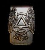 AA Wings of recovery money clip Free shipping by Nealsworlddesigns, $15.00