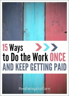 Copy Paste Earn Money - Do you want to find a way to work from home and earn passive income? Heres a list of 15 ways you can do the work once and keep getting paid, over and over again. - You're copy pasting anyway.Get paid for it. Earn Money From Home, Earn Money Online, Make Money Blogging, Online Jobs, Way To Make Money, Money Fast, Money Tips, Online Income, 3 Online