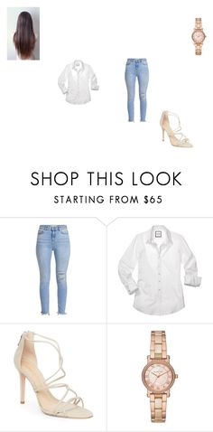 """Untitled #82"" by lilymadoxx on Polyvore featuring Schutz and Michael Kors"