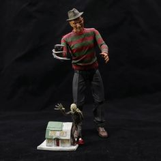 "(28.49$)  Watch here - http://airgi.worlditems.win/all/product.php?id=32761541692 - ""New Movie Nightmare on Elm Stree Part 3 Ultimate Dream Warriors Freddy Krueger NECA 7"""" Action Figure """
