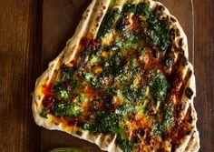 Grilled Flatbread: Recipe: bonappetit.com