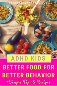 How To Manage ADHD Kids With Better Foods You'll Love The right diet and nutrition tips can help make a difference in successfully managing your kids' ADHD symptoms. Find out what you need to know and get simple recipe and meal ideas you can try at home. Proper Nutrition, Kids Nutrition, Diet And Nutrition, Healthy Kids, Healthy Eating, Healthy Recipes, Clean Eating, Nutrition Sportive, Adhd Diet