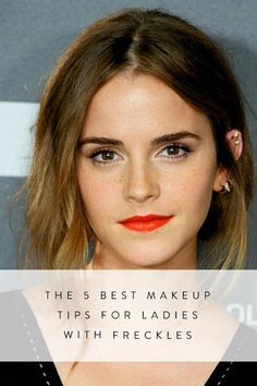 The best makeup tips for girls with freckles