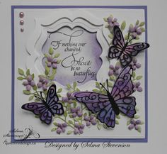 Selma's Stamping Corner and Floral Designs: If Nothing Ever Changed