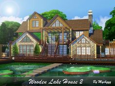 MychQQQ's Wooden Lake House 2