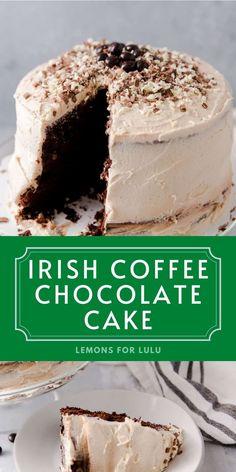 Irish Desserts, Irish Recipes, Easy Desserts, Sweet Recipes, Famous Desserts, Cupcake Recipes, Baking Recipes, Cupcake Cakes, Dessert Recipes