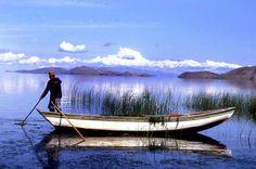Fisherman - Lake Titicaca, Bolivia