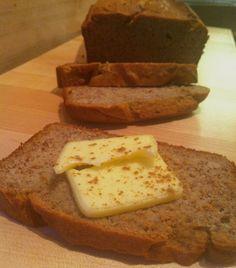 Banana Bread (sweetener-free) sub butter for palm shortening