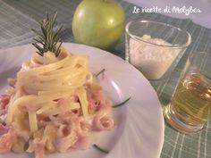 #Pasta al #brandy con #prosciutto