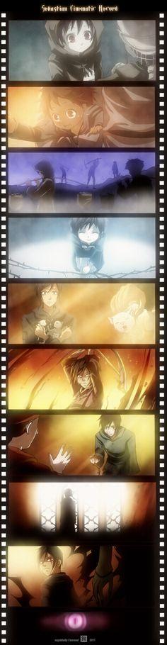 This is Sebastian's past. …………………