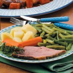 Ham & Veggies (Pressure Cooker)