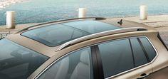 Techo panorámico practicable. Volkswagen Golf Sportsvan.