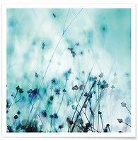 Blue - Mareike Böhmer - Premium Poster