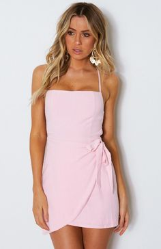 2d5ee0f00c4b5  To The Point  Dress in Baby Pink  90 Pink Outfits