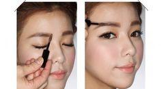 Eyebrow Shapes For Asian Eyes - Korean Eyebrows